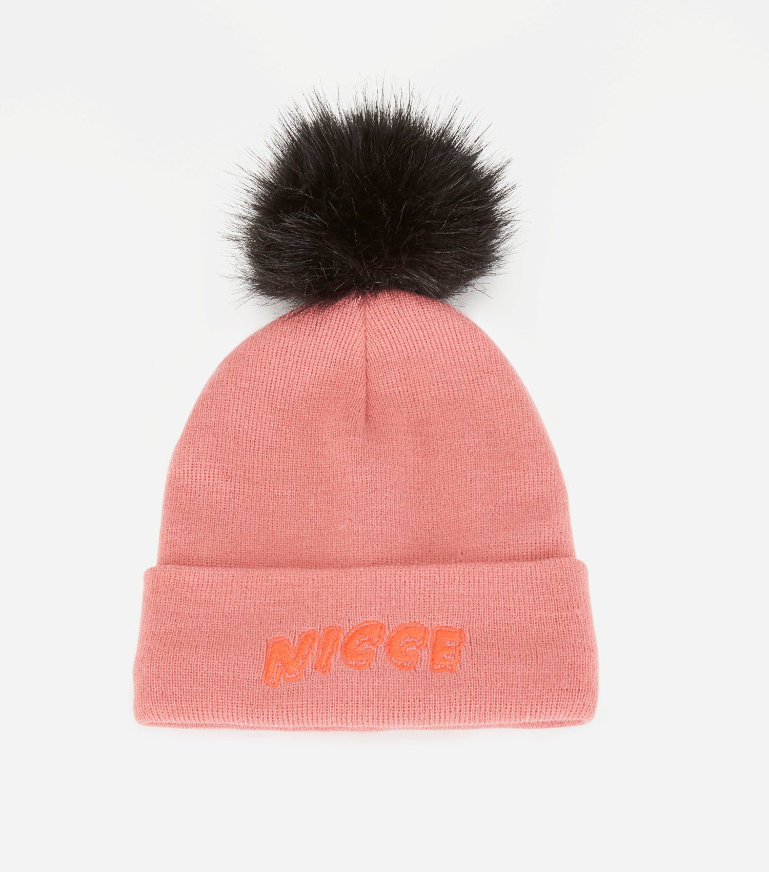 NICCE RISLEY BEANIE HAT | CANDLELIGHT PEACH / BLACK, Hats