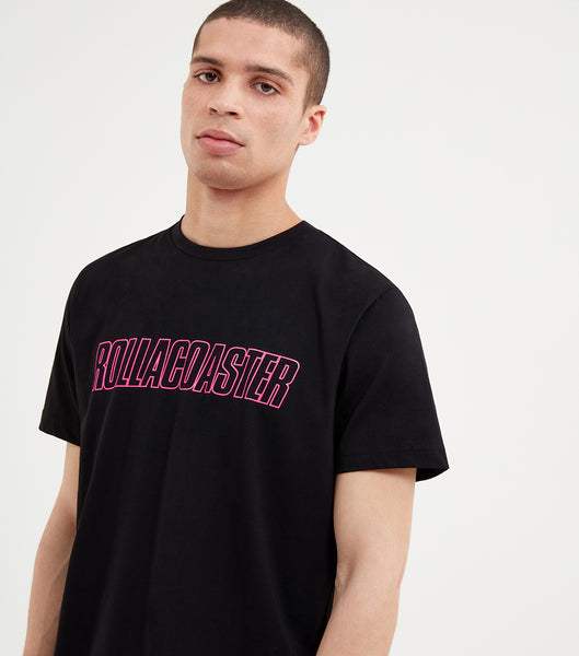 NICCE Mens Rollacoaster T-Shirt | Black