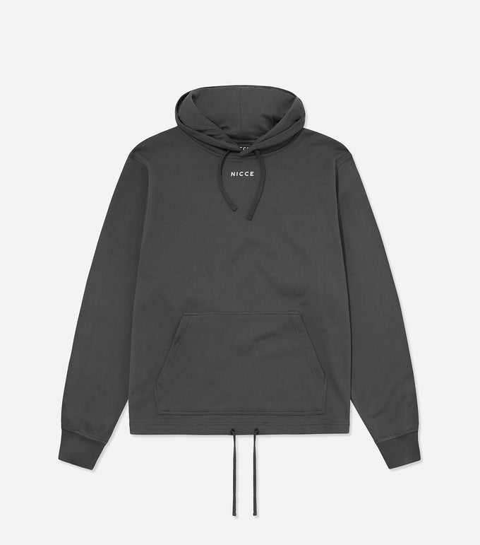 NICCE Mens Bocore Hood | Coal, Hoodies