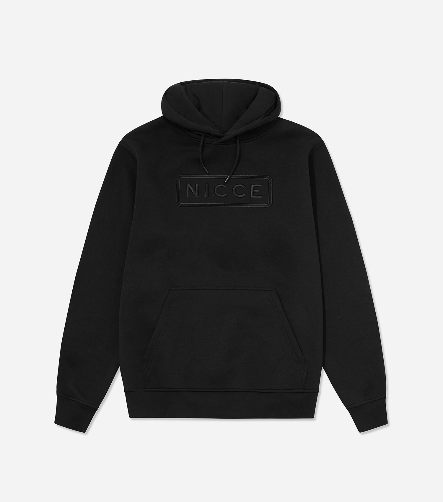 NICCE Mens Talin Hood | Black, Hoodies