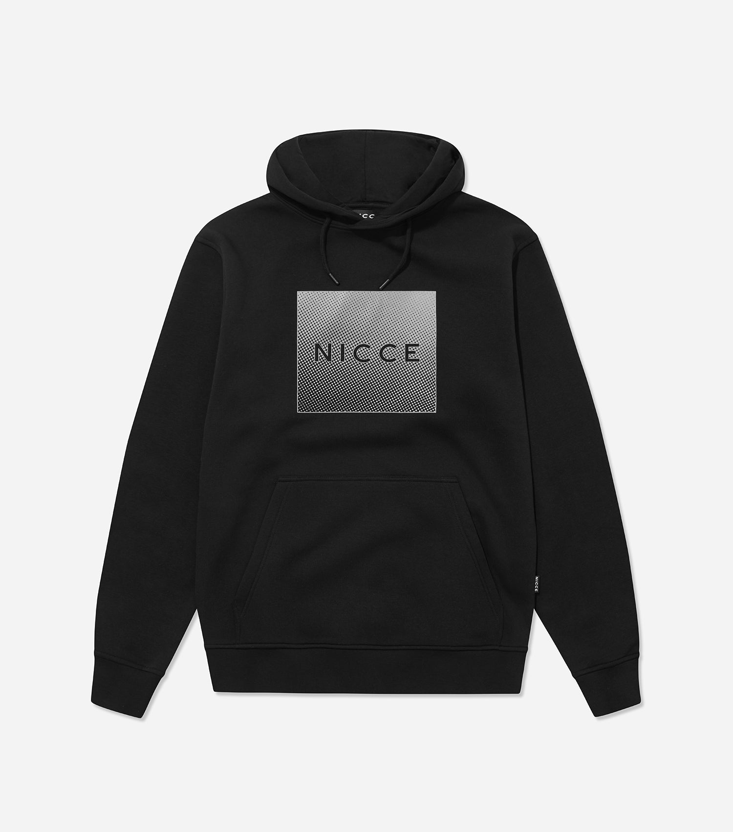 NICCE Mens Rhombus Hood | Black, Hoodies