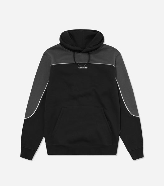 NICCE Mens Ark Hood | Coal/Black