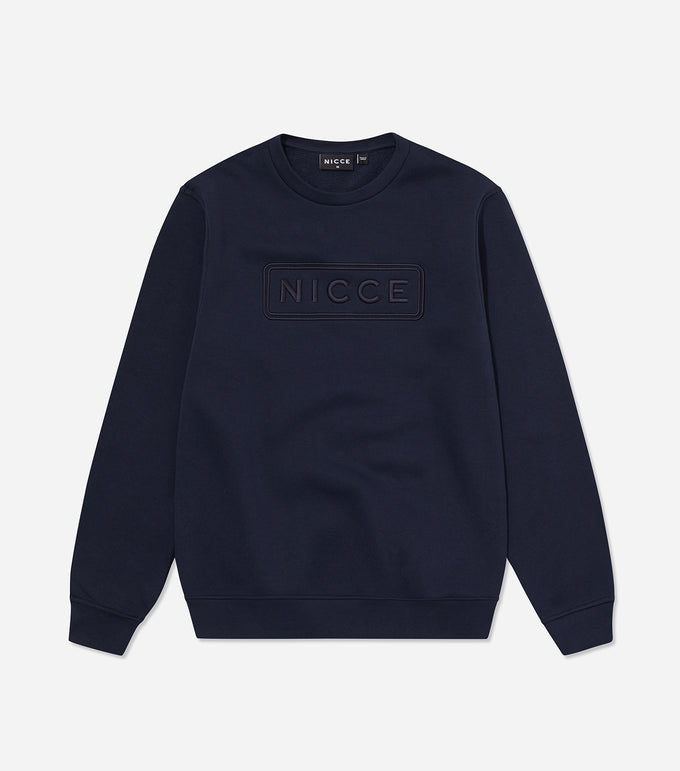 NICCE Mens Talin Sweat | Deep Navy, Sweat
