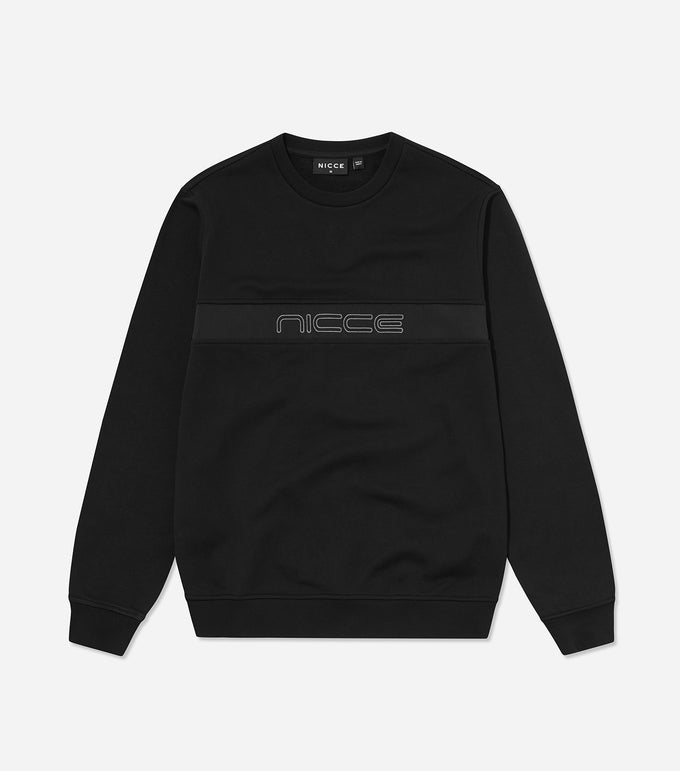 NICCE Mens Axe Sweat | Black, Sweat