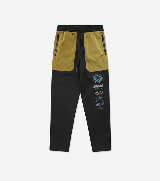 NICCE Mens Jogger Type 5 | Black/ Green