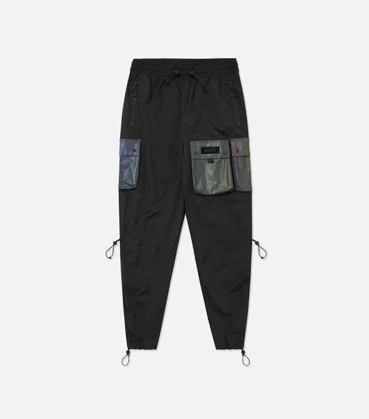 NICCE Mens Track Pant Type 1 | Black/ Iridescent