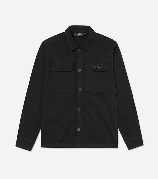 NICCE Mens Strapper Shirt | Black, Shirts