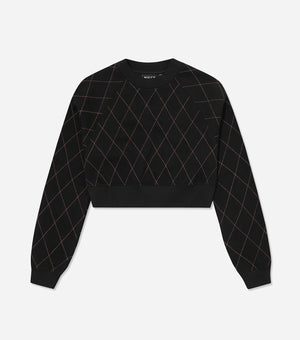 NICCE Womens Maze Sweat | Black