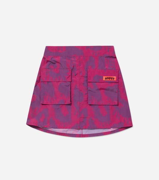 NICCE Womens Cannon Skirt | Fiesta Fushia/ Purple Passion
