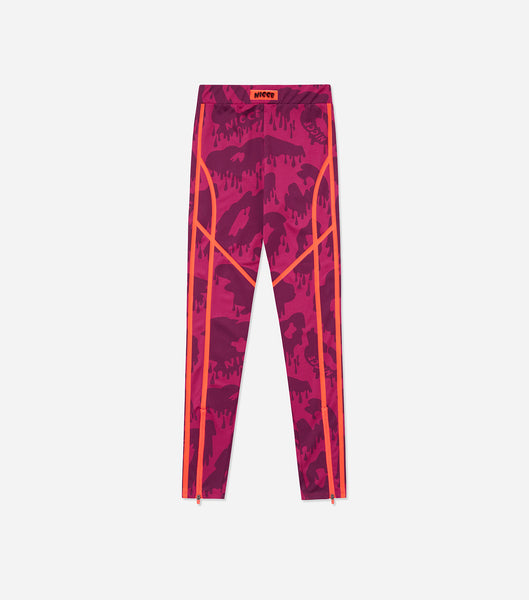NICCE Womens Arena Leggings | Fushia/ Purple, Leggings