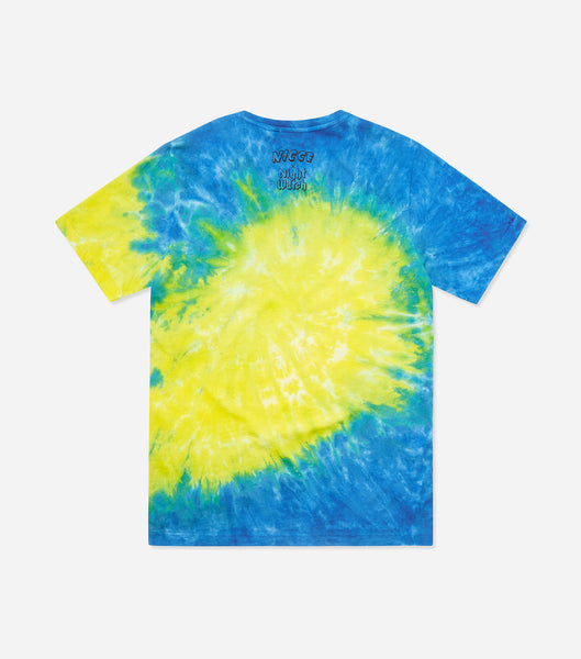 NICCE Mens Night Watch Tie-Dye T-Shirt | Blue, T-Shirts