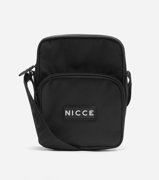 NICCE Mens Timo Cross Body Bag | Black
