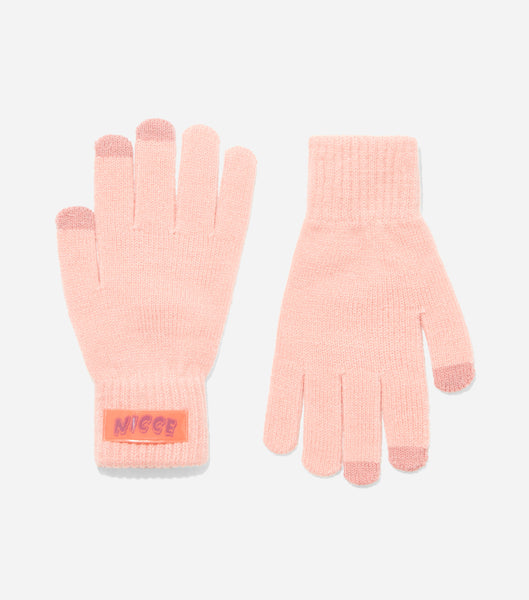 NICCE WOMENS TRAPEZE GLOVES | PEACH/ BLACK