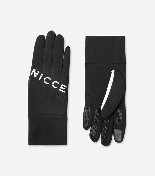 Core canvas gloves in black with NICCE woven label. A Winter essential to get you through the season.
