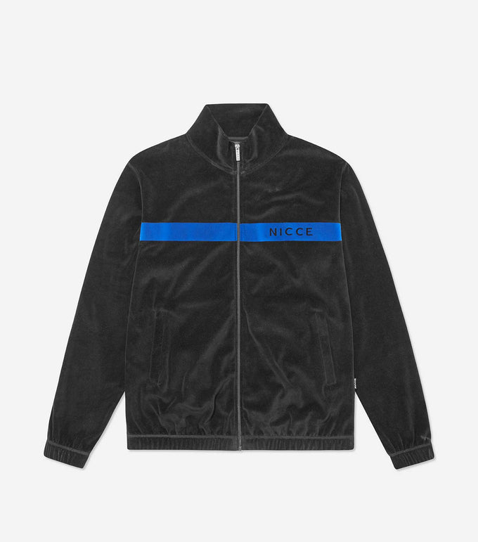 NICCE Mens Vela Track Jacket | Black, Outerwear