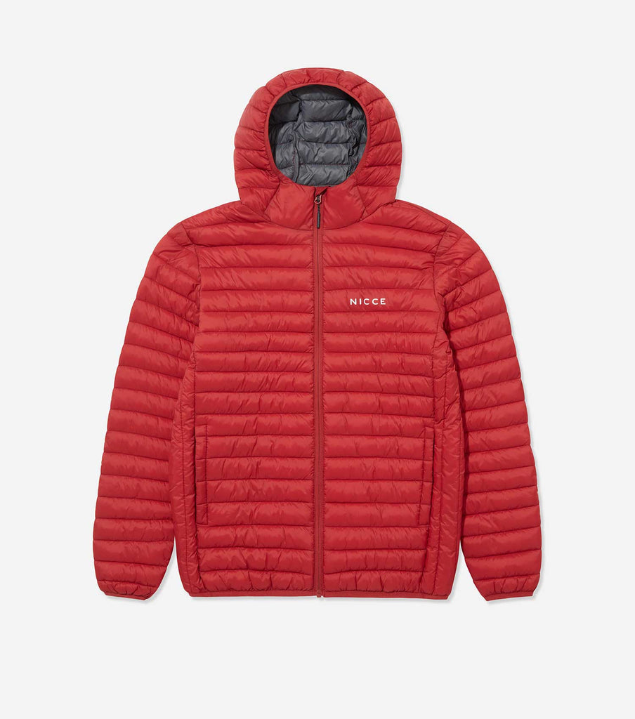Nicce Mens Maidan Jacket | Red, Outerwear