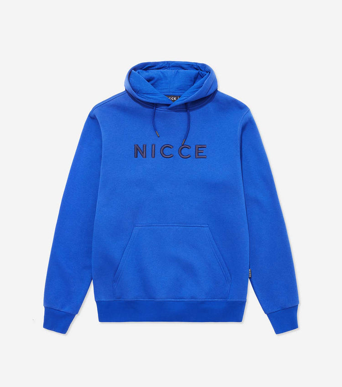 NICCE Mens Rhodium Hood | Cobalt Blue, Hoodies