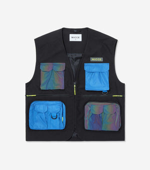 NICCE Mens Strike Vest Jacket | Iridescent