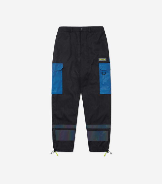 NICCE Mens Strike Cargo Pants | Iridescent, Pants