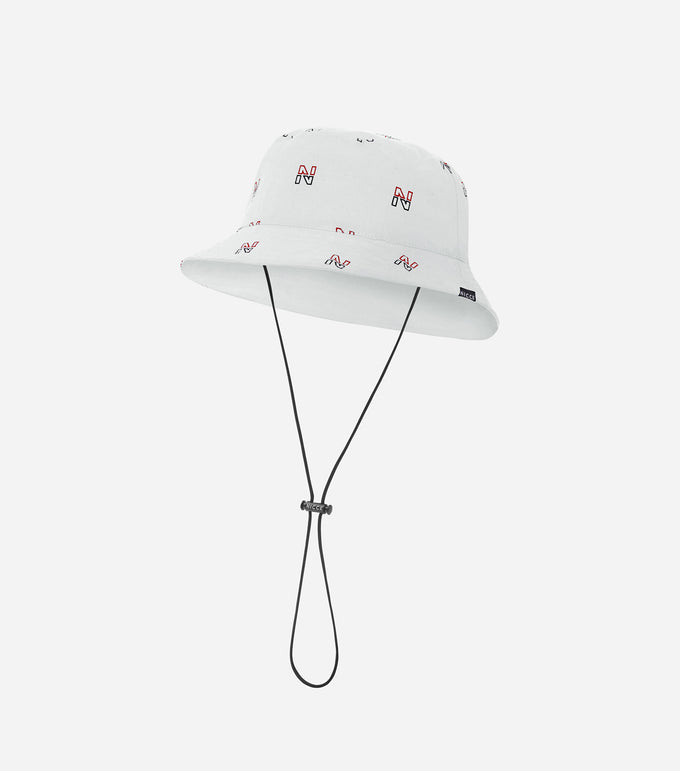NICCE Mens Vice Bucket Hat | White