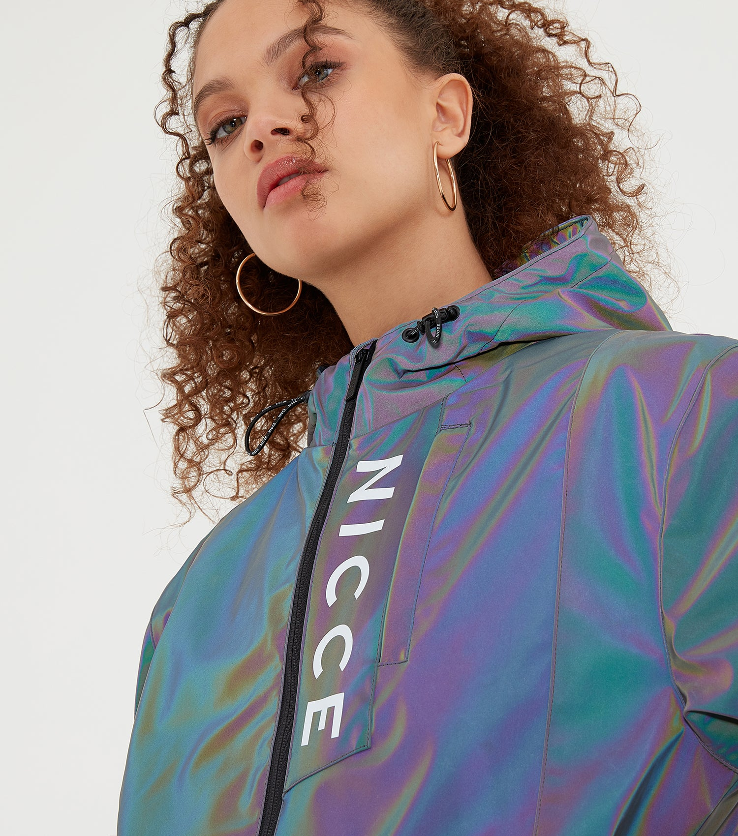 NICCE Womens Vind Jacket | Iridescent, Outerwear