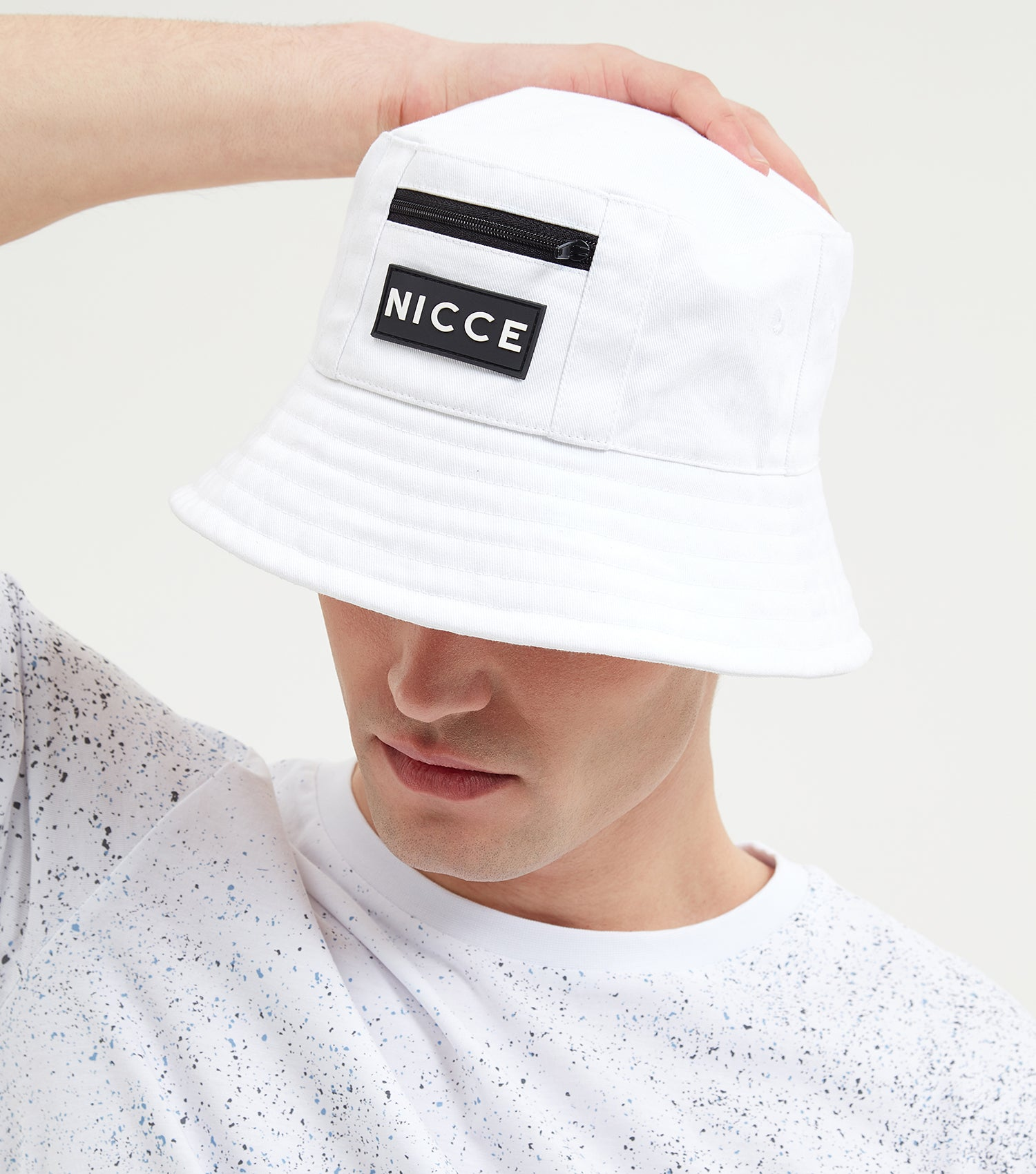 NICCE Mens Vision Hat | White, Hats