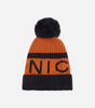 Footy hat with NICCE woven branding