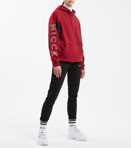 NICCE CONTRAST HOOD | RED