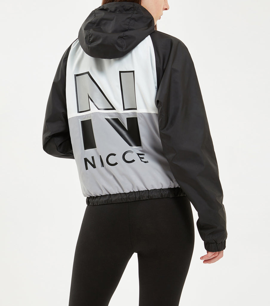 NICCE VOLLEY WIND JACKET | BLACK