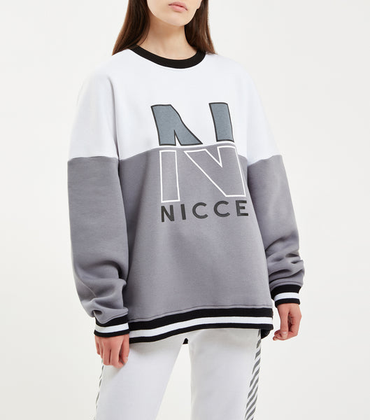 NICCE FRACTION SWEAT | GREY