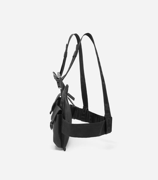 NICCE Zil Chest Harness Bag | Black