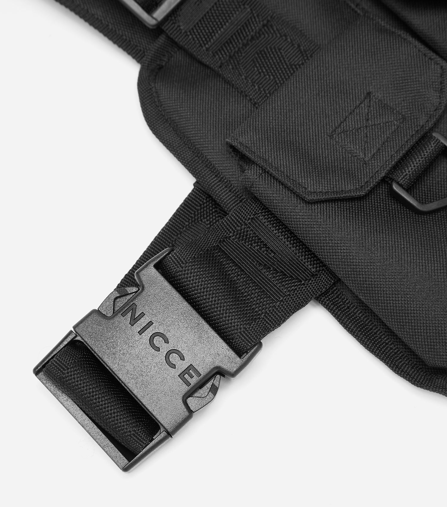 NICCE Zil Chest Harness Bag | Black, Bags