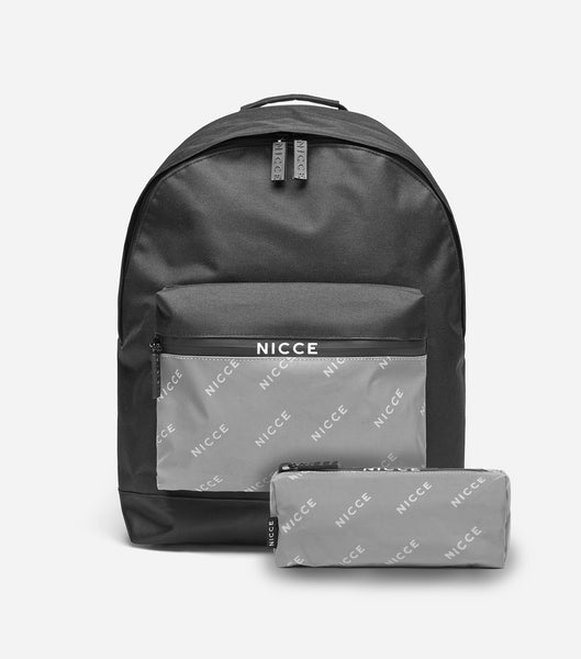 NICCE Tendel Backpack & Case Set | Black/Reflective