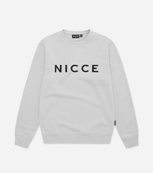 NICCE Mens Original Sweat | Stone Grey