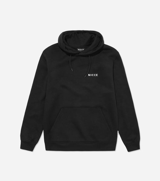 NICCE Womens Original Chest Logo Hood | Black, Hoodies