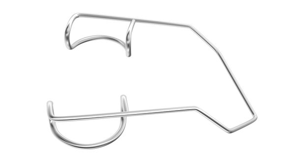 019R 14-022S Barraquer Wire Speculum, Adult Size, 14.00 mm Blades, Length 40 mm, Stainless Steel