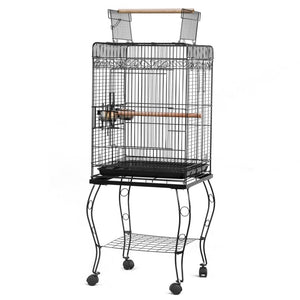 Condo For Small To Medium Size Birds With Wheels-FREE Shipping In USA!