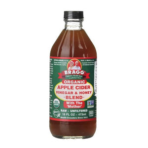 Bragg Apple Cider Vinegar with Honey and The Mother 473ml