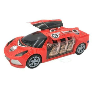 Battery Operated Car with Labbaik Sound and Lights Kids Toys Interactive - almanaar Islamic Store