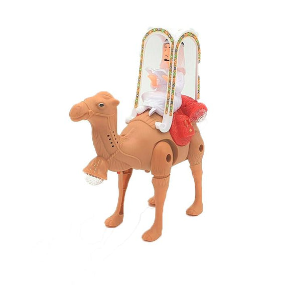 Battery Operated Camel with Labbaik Sound and Lights Kids Toys Interactive - almanaar Islamic Store