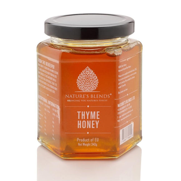 Raw Thyme Honey 340g - almanaar Islamic Store