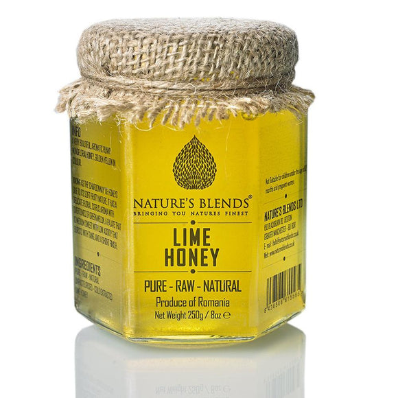 Natural Pure Raw Lime Honey 250g - almanaar Islamic Store