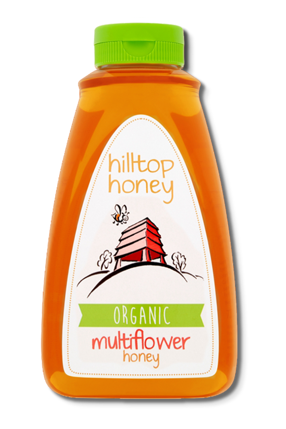 Organic Multiflower Honey 720g