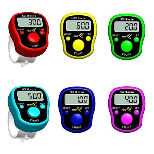 LED Digital Counter Finger Tasbih - almanaar Islamic Store