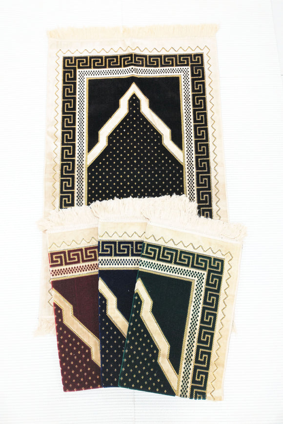 Extremely soft Islamic Prayer Mat  High Quality Turkish Dot Prayer mat