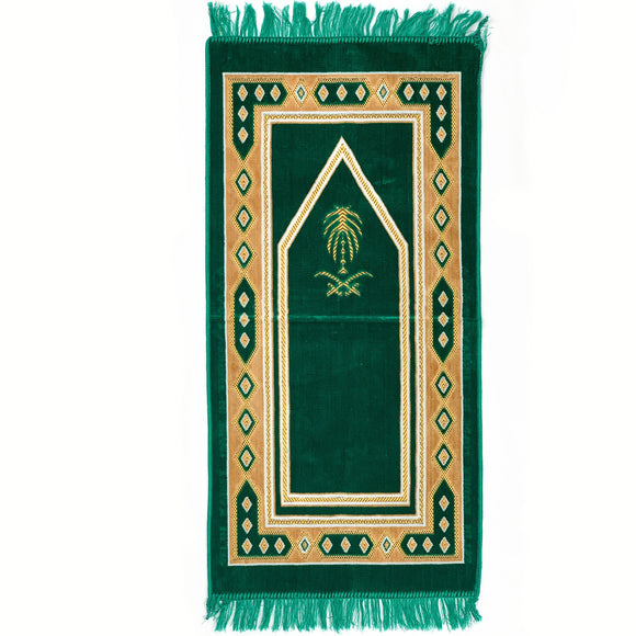 Thick Velvet Prayer Mat For Kids - almanaar Islamic Store
