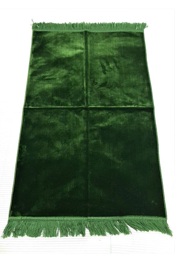 SOFT Velvet Plush Ultra  Turkish Prayer Mat