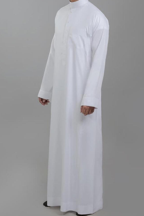 AL ASEEL Men's Islamic clothing Thobe Jubba