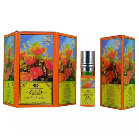 Bakhour Perfume Oil 6ml X 6 By Al Rehab - almanaar Islamic Store