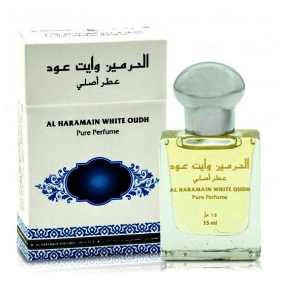 Al Haramain White Oudh 15ml Perfume Oil